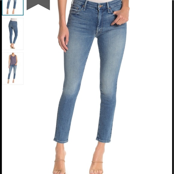 MOTHER Denim - MOTHER high waisted looker ankle jean NWT